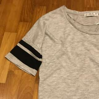 cotton on grey shirt