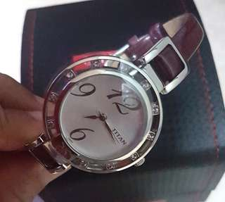 Titan ladies dress watch