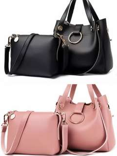 HANDBAG AND SHOULDERBAG