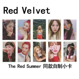 Red Velvet The Red Summer Duplicate Photocard