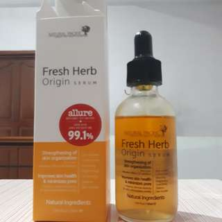 Fresh herb serum