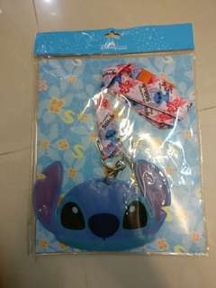 史迪仔頸繩  stitch hong kong disneyland