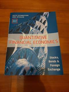 Quantitative Financial Economics textbook