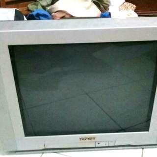 二手電視(日歷21寸)付搖控器1000
