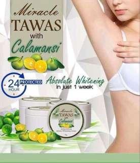 Miracle Tawas with Calamansi cream
