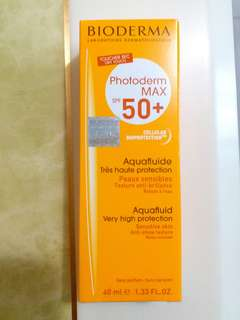 Bioderma Aquafluide Neutre 高效清爽防曬乳液 Spf 50+ (40ml)