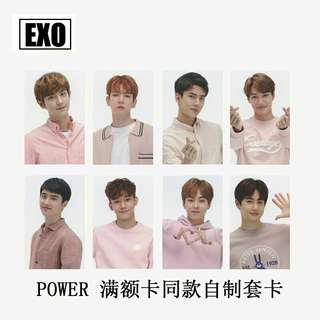 EXO The Power Of Music Duplicate Photocard