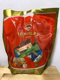 Golden Boronia Assorted Nougat 500g