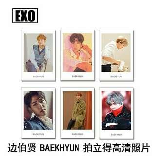 EXO Baekhyun Polaroid Set