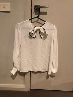 Zara bow top