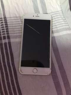 跌爆mon iphone6+ 6plus 金色 16gb