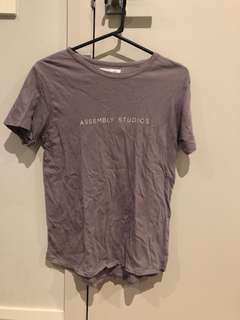Assembly label tee