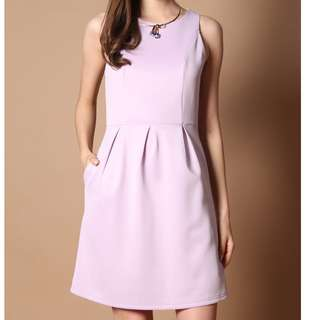 (L) TheStageWalk Lilac Dress