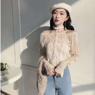Lace top + inner (2pcs)