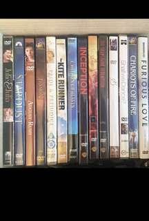 Authentic Original DVDs - Stardust and J Edgar left only!