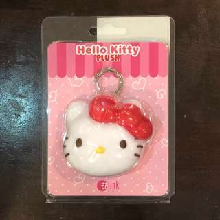 Hello Kitty Plush ezlink charm