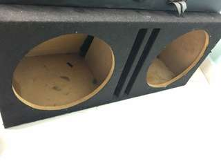 Subwoofer box 12inch