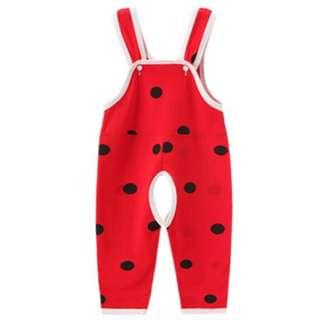 INSTOCK BN baby ladybug jumpsuit (73cm)