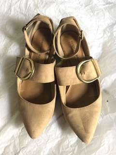 Cream shoes sundae