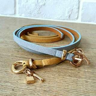 padlock + key waist belt
