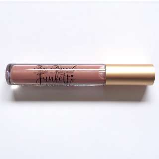 Brand New Too Faced Funfetti Ultra Plush Lip Gloss ❤️ Authentic ❤️