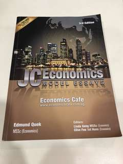 Jc economics essay guide and samples