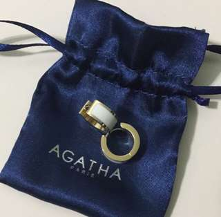 New! Authentic Agatha Earrings