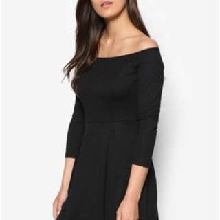 ZALORA off shoulder dress