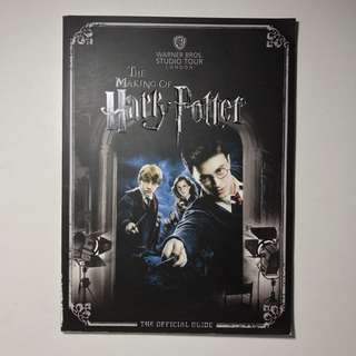 The Making Of Harry Potter 2012 Edition Official Guide