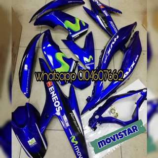 COVERSET YAMAHA NVX MOVISTAR ORIGINAL YAMAHA