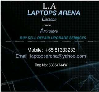 Old/New,BUY/SELL/REPAIR LAPTOPs/Desktops/iphones,upgrade buyback & buy/sell services,islandwide collection