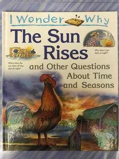 """Children book """"I wonder why"""""""