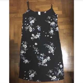 Floral slip on cami Dress