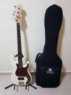 Maruszczyk Precision Bass Jake 4p in Vintage White