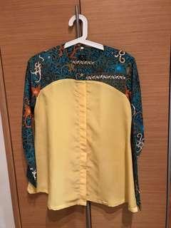 Lana batik blouse