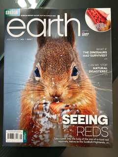 BBC Earth April 2018