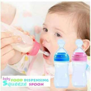 90ML Silicone baby squeeze