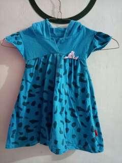 Dress perempuan untuk anak 0-2th