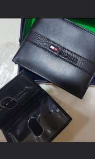 Tommy Hilfiger wallet 2 piece set with card slot