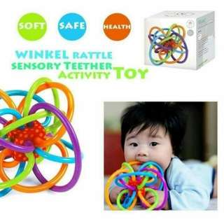 Winkle Rattle Teether activity toy