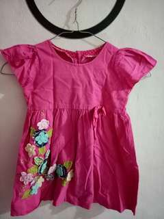 Dress  perempuan uk 1-2th