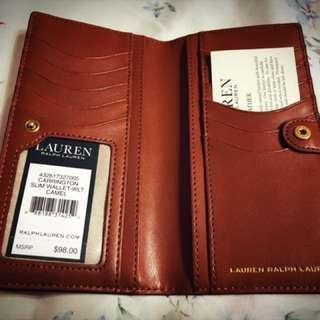 Lauren Ralph lauren女用牛皮夾
