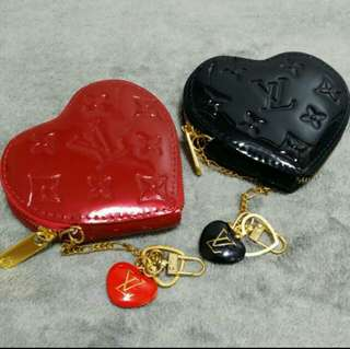 Heart Shaped Coin Pouch