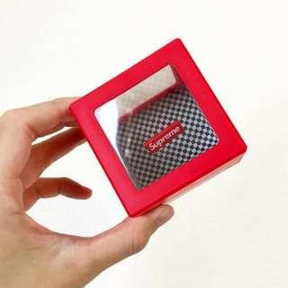 SUPREME BOX LOGO 硬幣盒