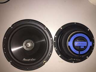 Phoenix gold 6.5 inch Co-Axial Speakers