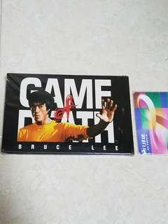 李小龍 bruce lee postcard game of death 死亡遊戲 一套6張