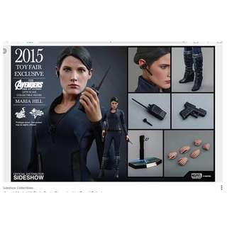 100% Factory Sealed Hot Toys 1/6th Scale MMS305 Avengers Age of Ultron - Maria Hill