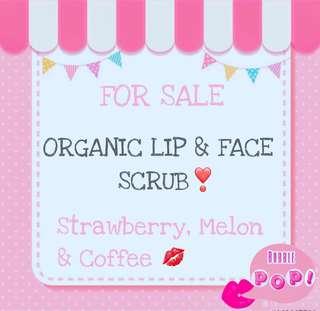 Organic Lip and Face scrub