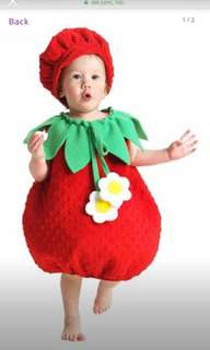 Strawberry costume - like new
