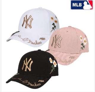 Chanyeol EXO x MLB Embroidery Cap